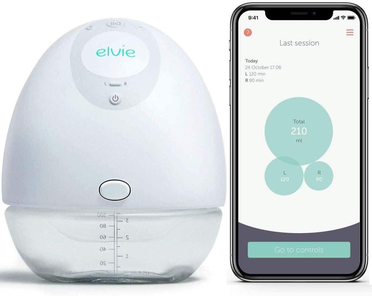 Elvie Single Electric Breast Pump.