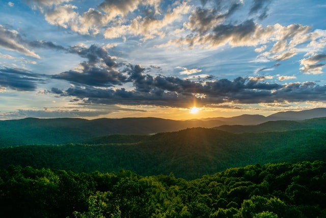 The Appalachian Mountain are a chain of mountains in the East of North America.