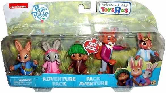 Peter Rabbit Figures Adventure Pack. 