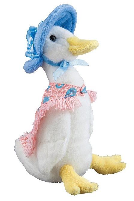 Beatrix Potter Medium Jemima Puddle Duck.
