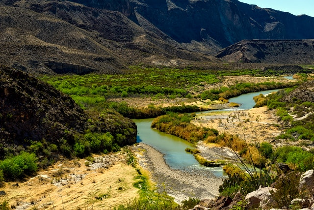 The biggest river in Texas is the Rio Grande.\