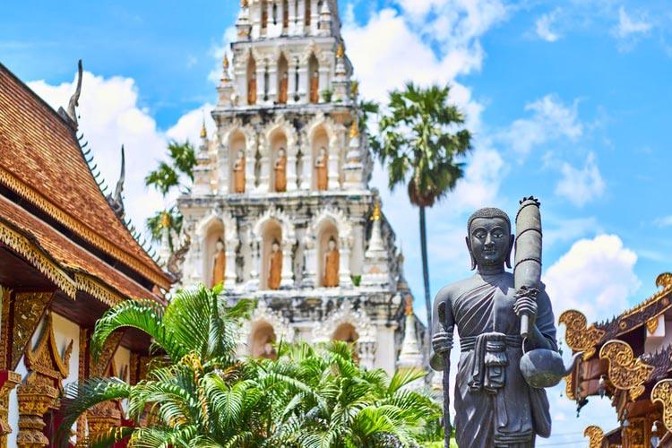 94% of Thailand's population is Buddhist