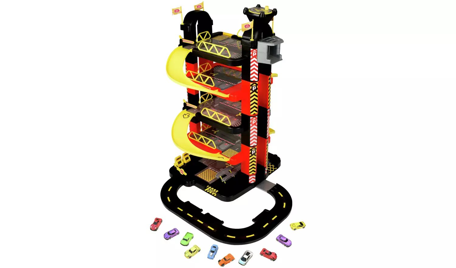 Chad Valley Deluxe 5-Level Garage & Cars Set.