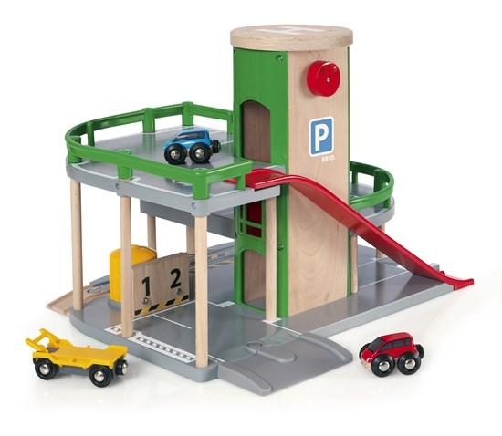 BRIO World Parking Garage.