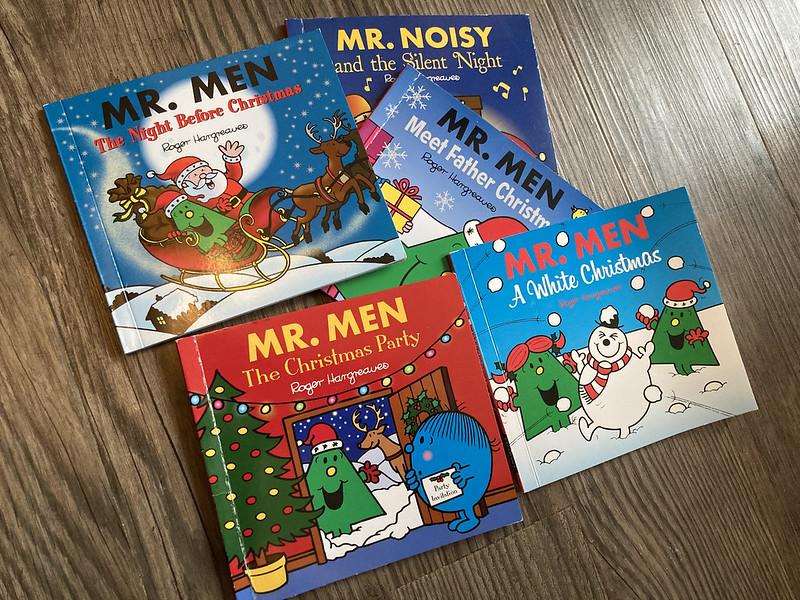 Mr Men Christmas books.