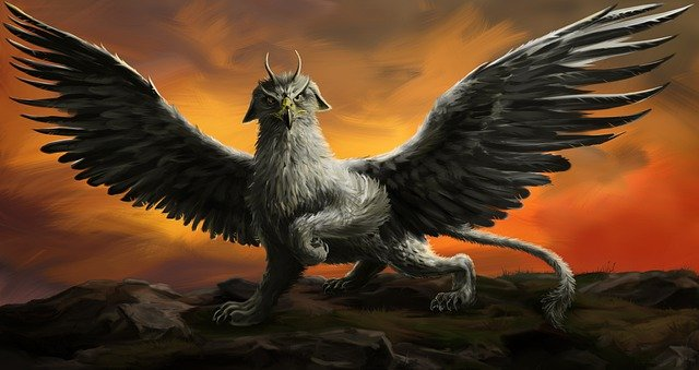The Celts were one culture that had their own version of the Griffin myth, they are differentiated by calling them a Celtic Griffin.