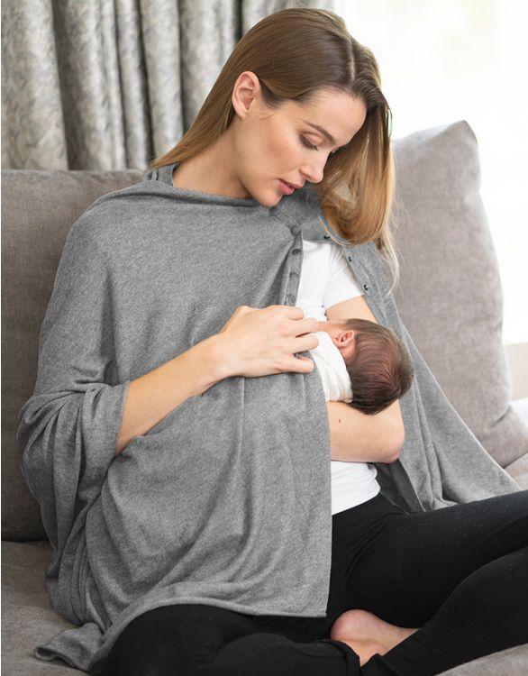 Breastfeeding Cover Maternity Shawl - Seraphine.