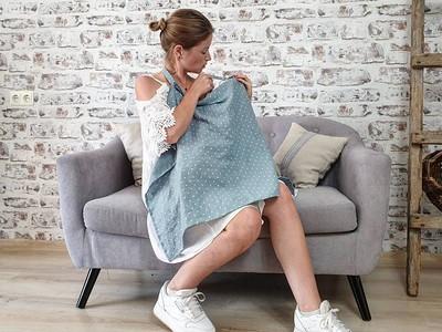 Linen Nursing Cover - Etsy.