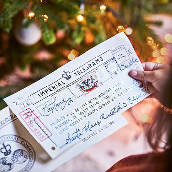 Message From Santa - Imperial Telegrams‍.