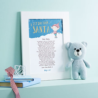 Personalised Letter From Santa Poem - Bespoke Verse.