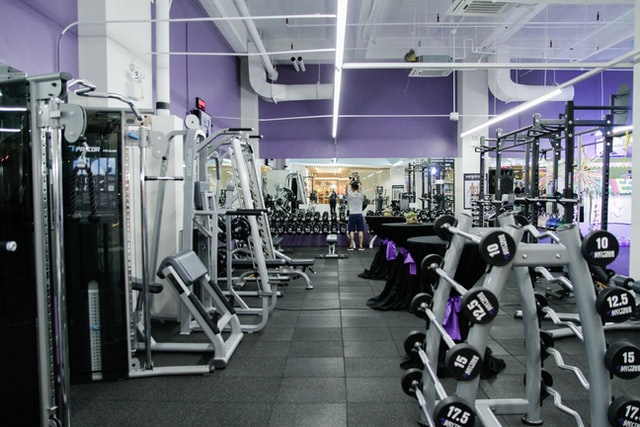 Going to a gym encourages people to maintain a healthy lifestyle and exercise regularly.