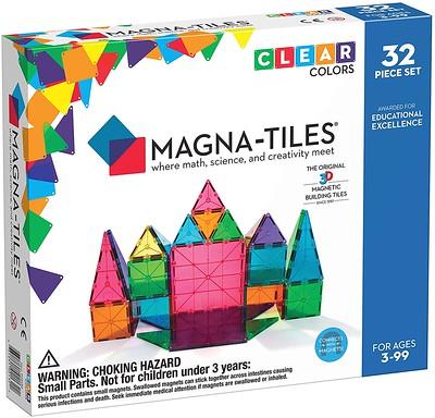 Magna-Tiles Translucent Colors 100 Pieces - Amazon.