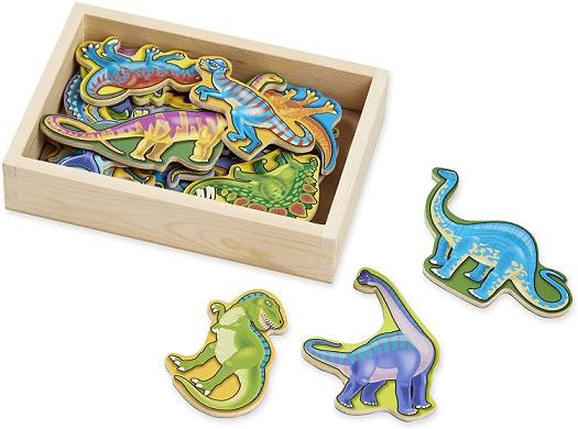 Melissa & Doug Wooden Dinosaur Magnets - Amazon.