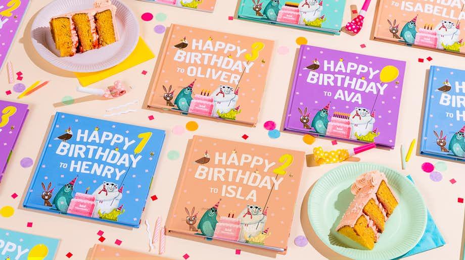 Wonderbly Personalised Birthday Book.