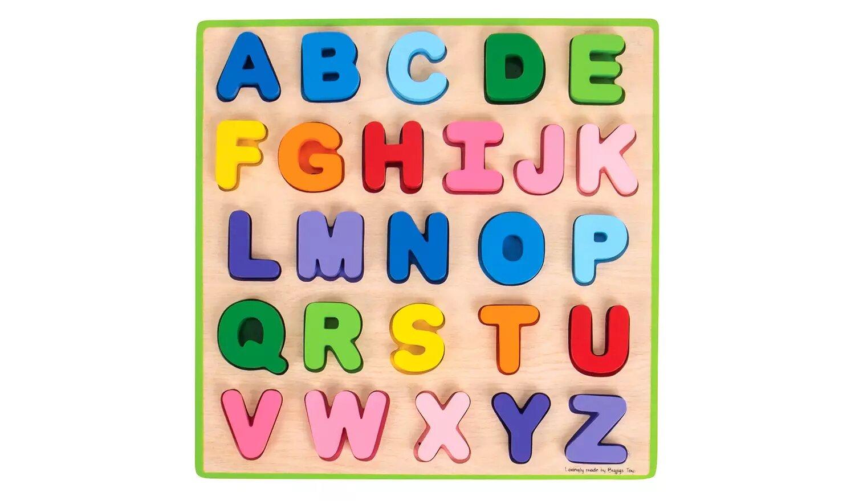 Baby Bigjigs ANC Puzzle.