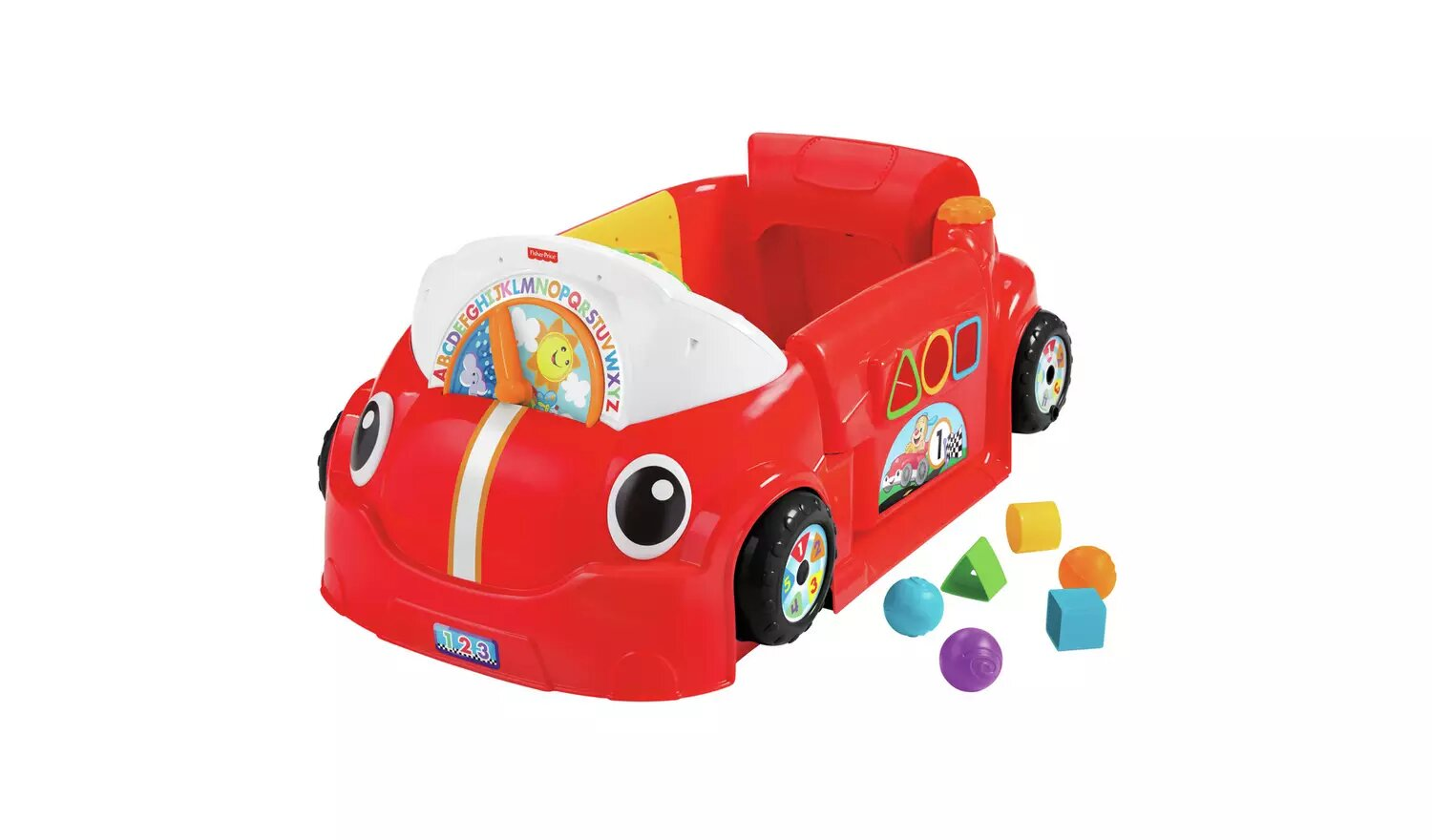 Fisher-Price Laugh & Learn Crawl Around Car.