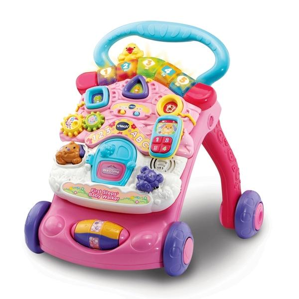 VTech First Steps Baby Walker Pink.