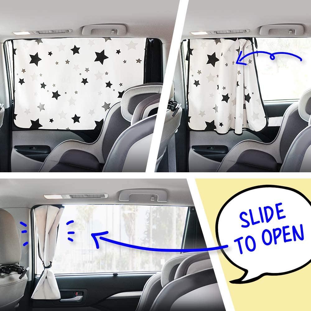 GgomaART Car Side Window Sun Shade.