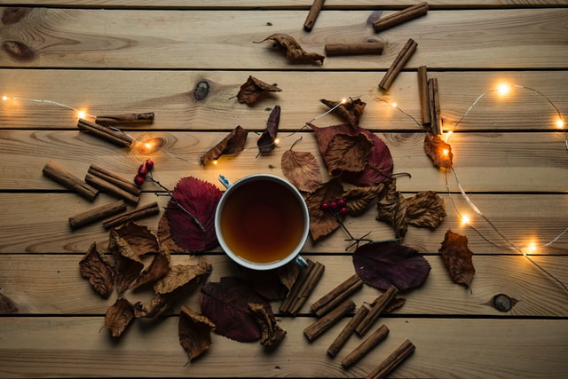 A warm cup of chai is the perfect drink for October.