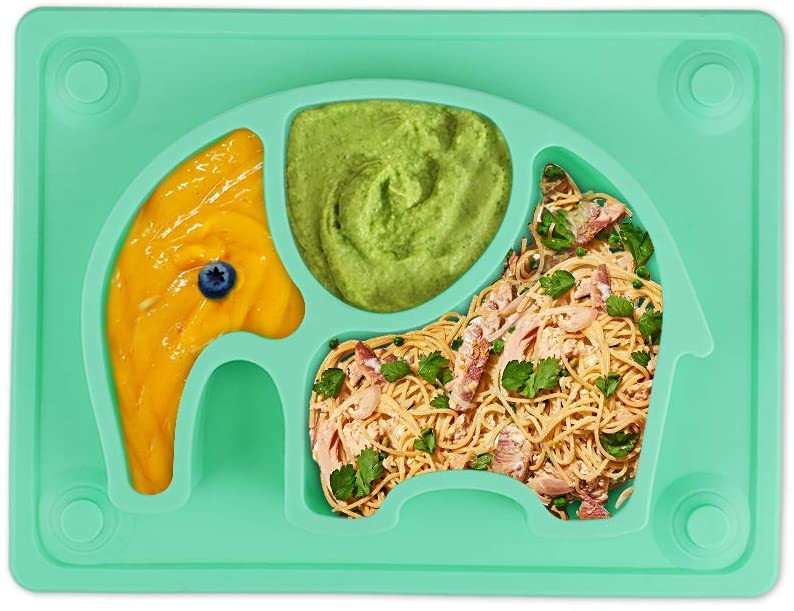SILIVO Baby Suction Non-Slip Placemat.