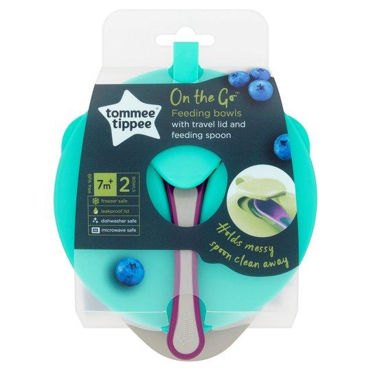 Tommee Tippee Explora Easy Scoop Feeding Bowls.