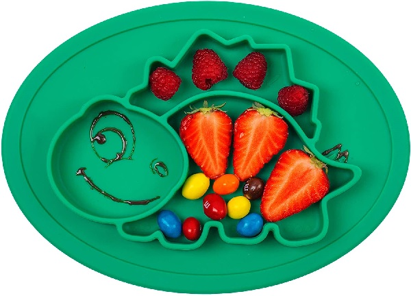 Qshare One-Piece Silicone Suction Plate.