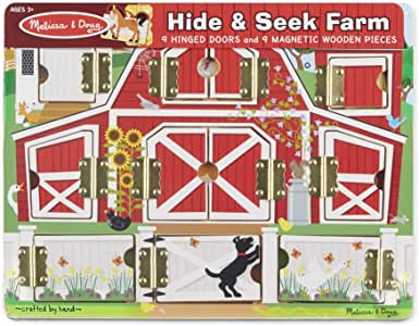 Melissa & Doug Hide & Seek Farm.