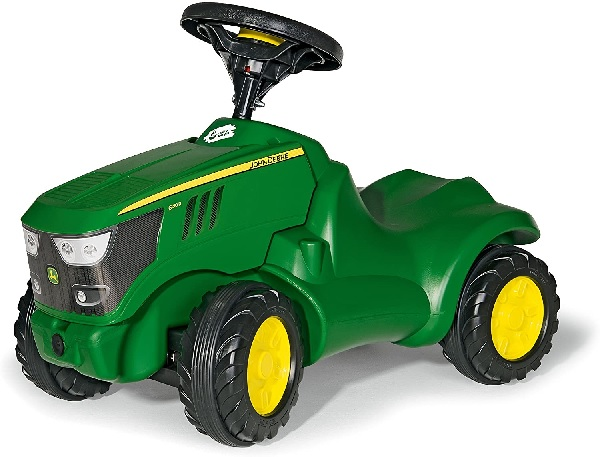 Rolly Toys John Deere 6150R Mini Trac With Opening Bonnet.