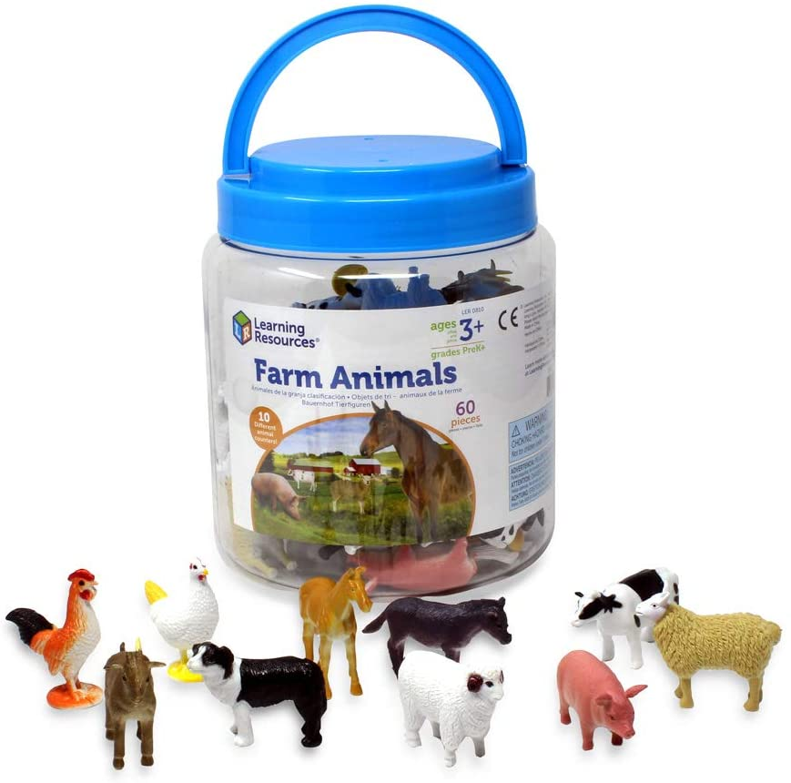 Learning Resources Farm Animal Counters.