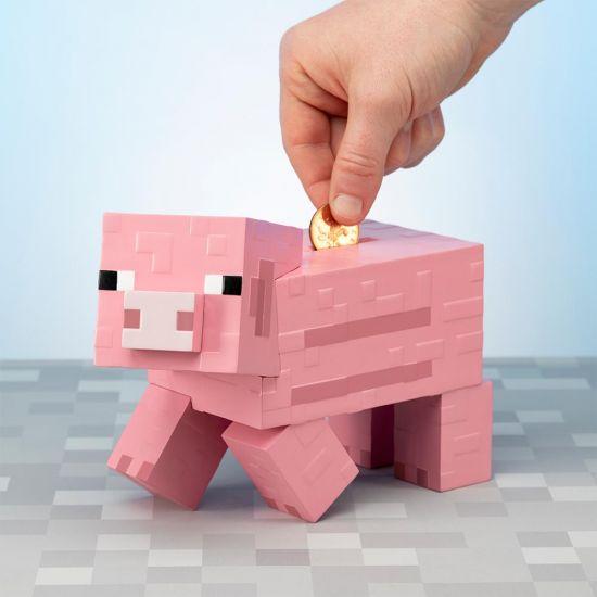 Minecraft Pig Money Bank.