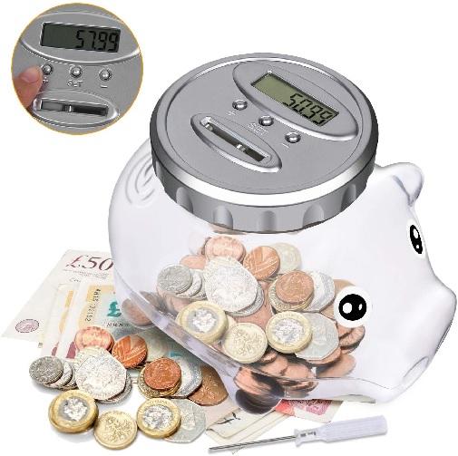 LemonBest Digital UK Coins Counter.