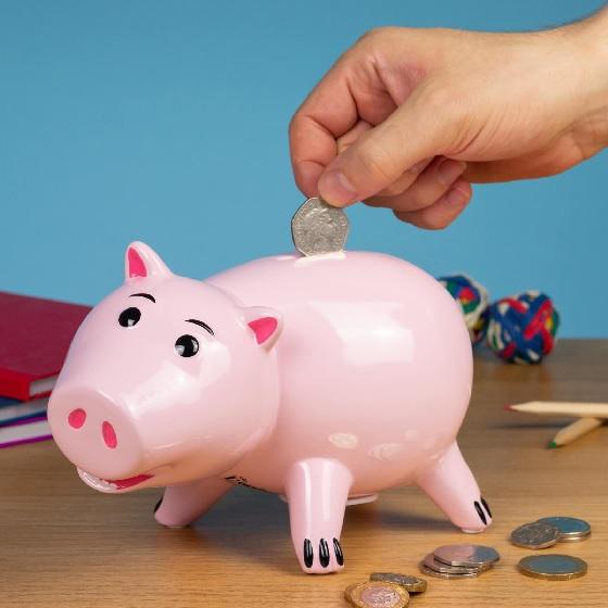 Hamm Piggy Bank.
