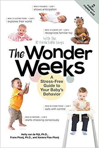 The Wonder Weeks: A Stress-Free Guide to Your Baby's Behaviour, by Xaviera Plas-plooij, Frans X. Plooij and Hetty Van De Rijt.