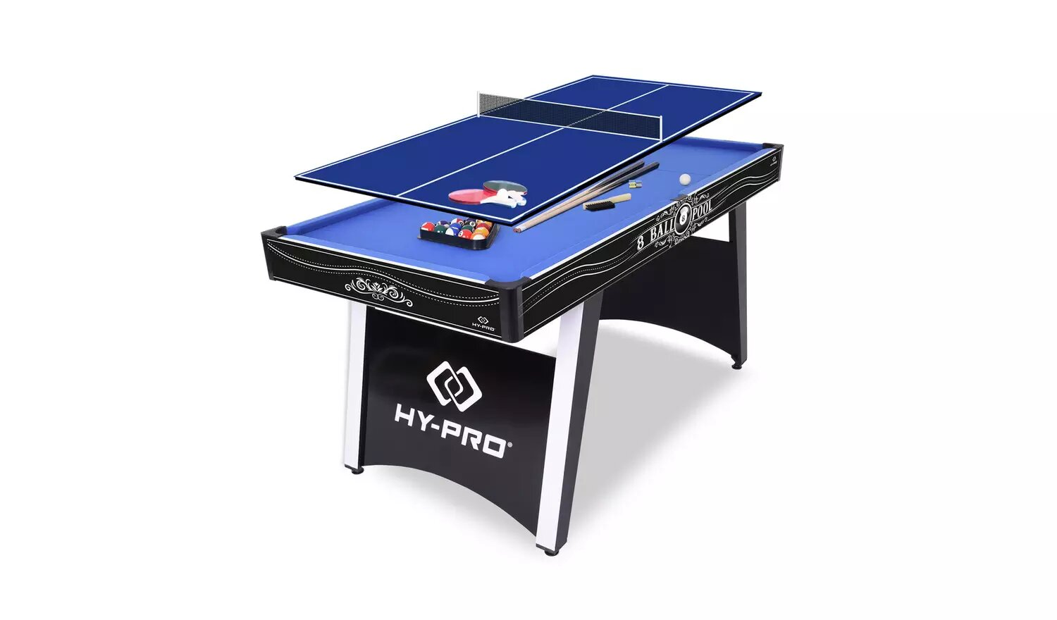 Hy-Pro 5ft Strike American Pool And Table Tennis Table.