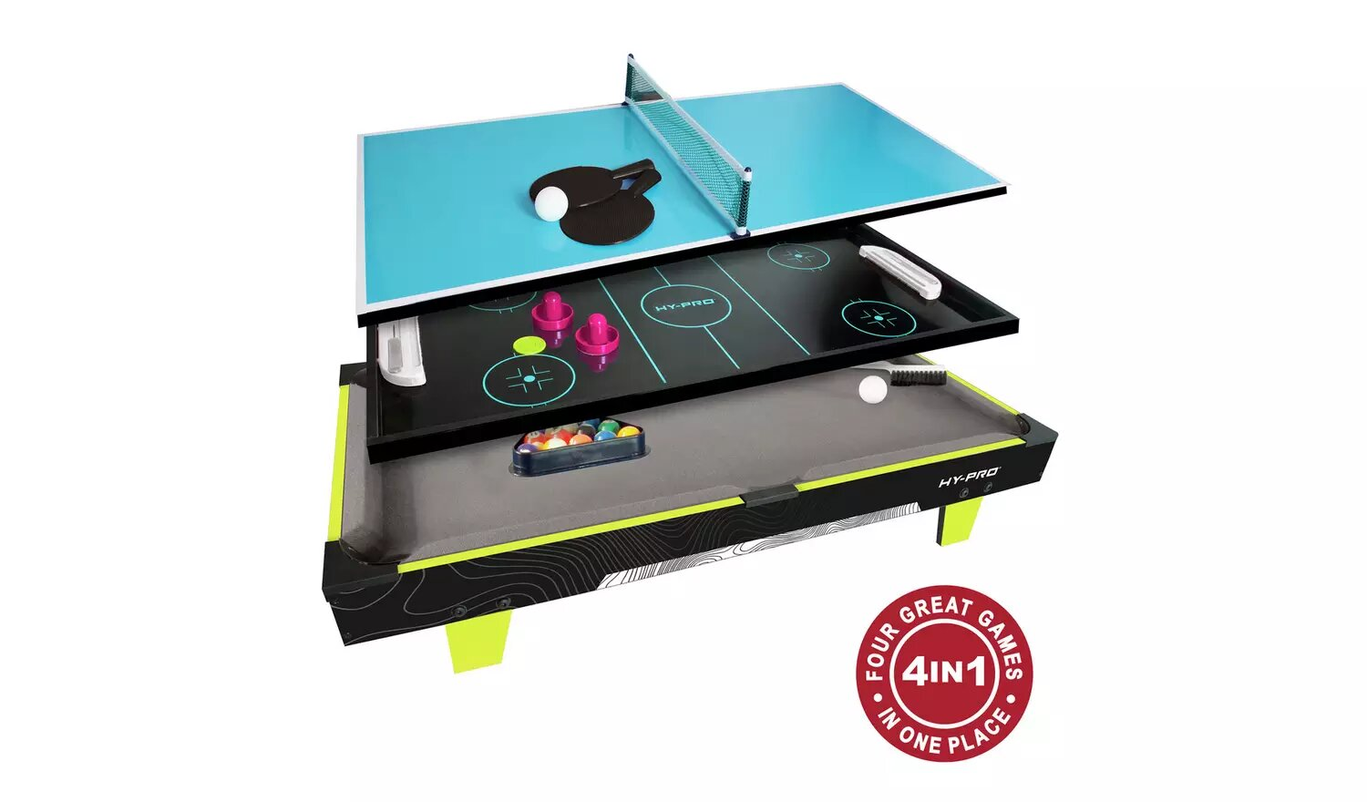 Hy-Pro 3Ft Table Top Games.