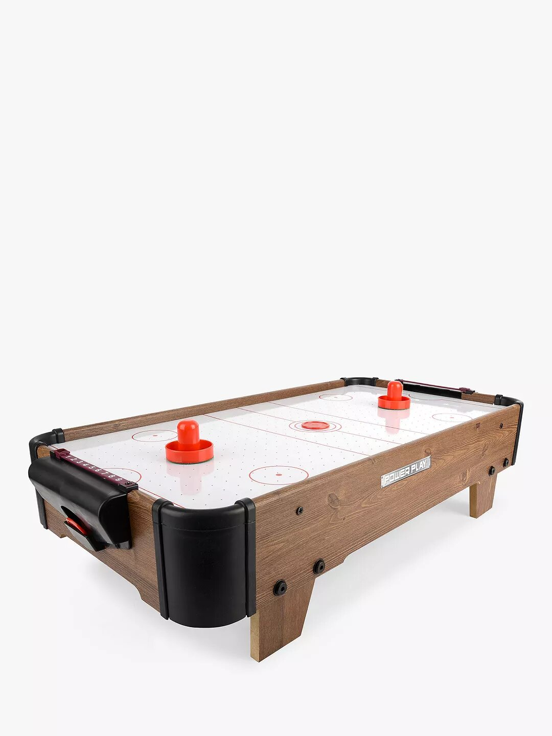 """Toyrific Power Play 28"""" Table Top Air Hockey Game."""