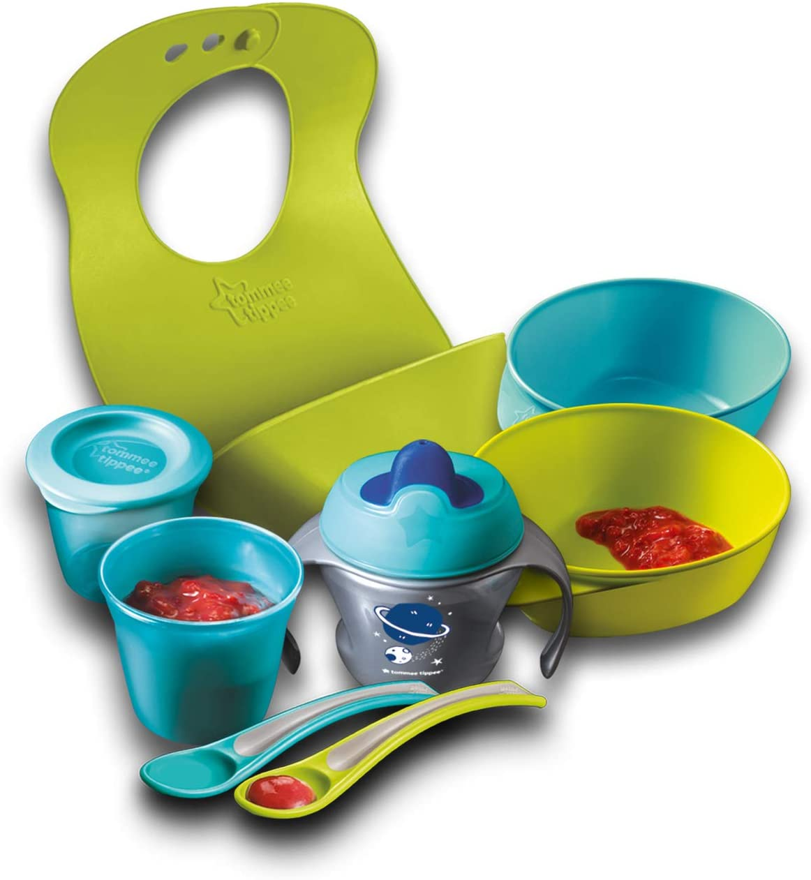 Tommee Tippee Weaning Kit.
