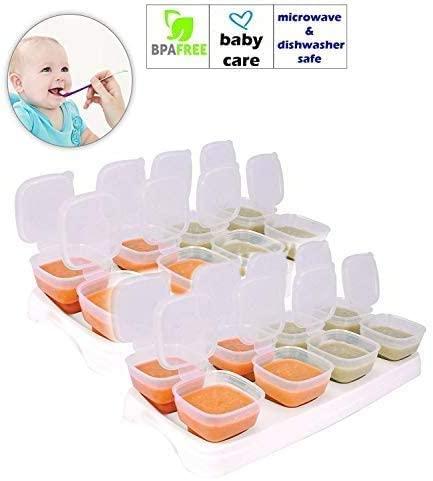 Hoolaroo Baby Freezer Cube Trays.