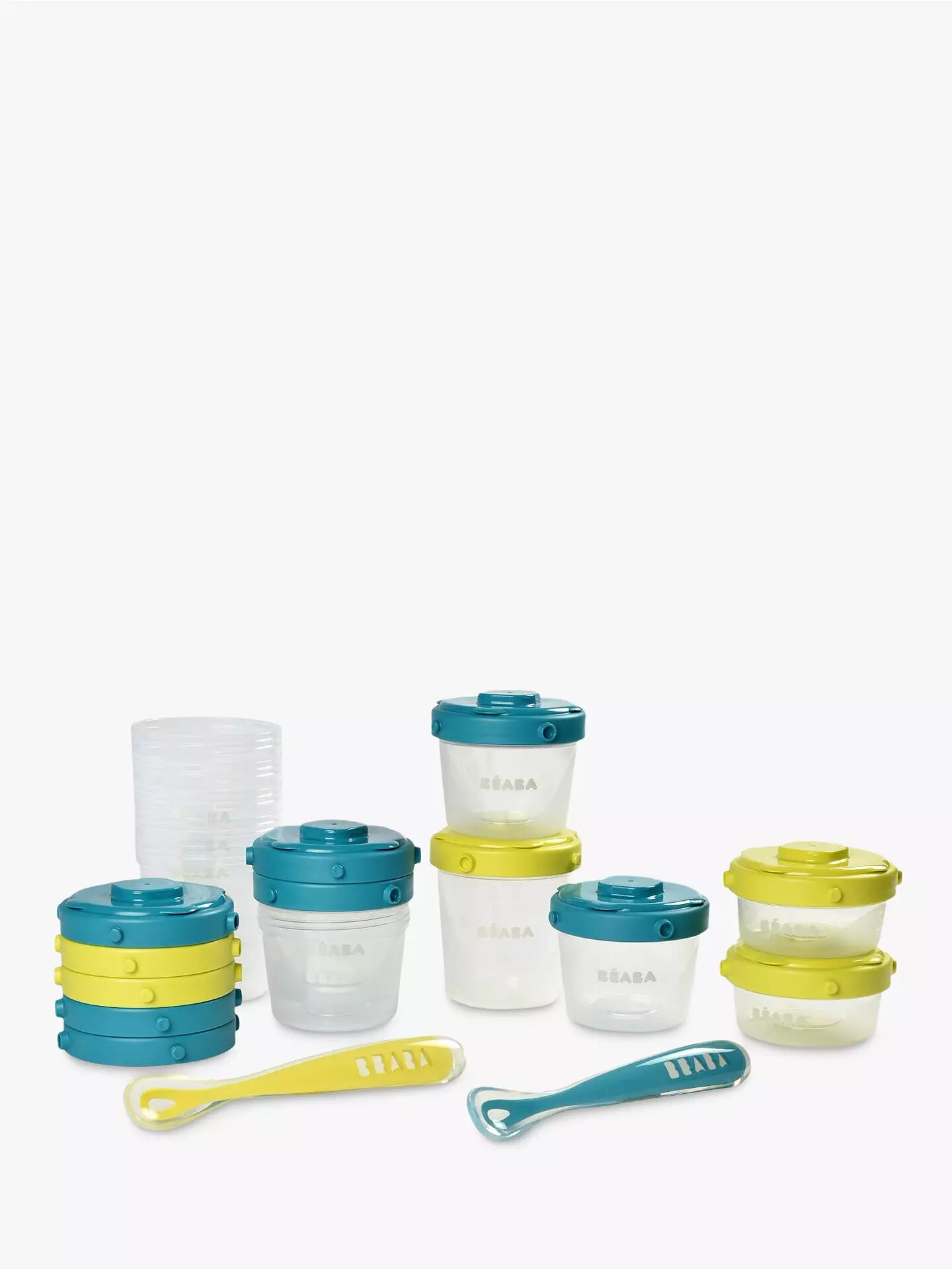 Beaba Baby First Meal Food Storage Container Set.