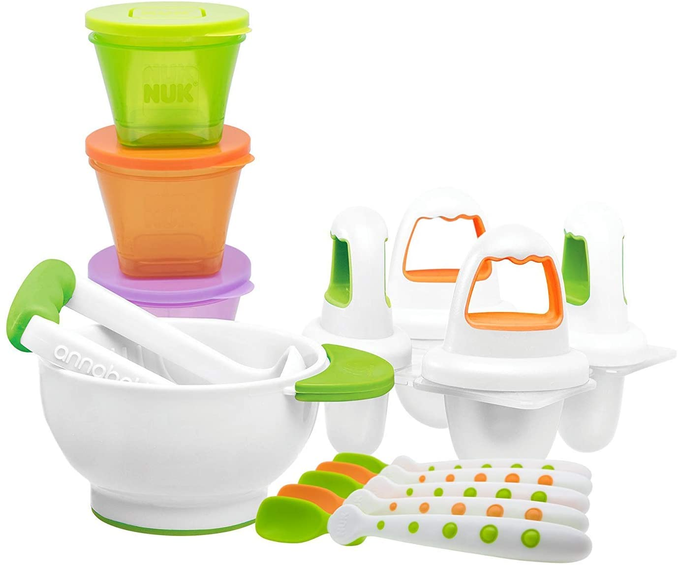 NUK Baby Weaning First Foods Starter Set.