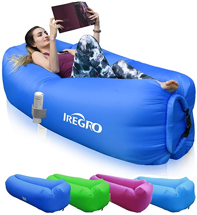IREGRO Inflatable lounger.