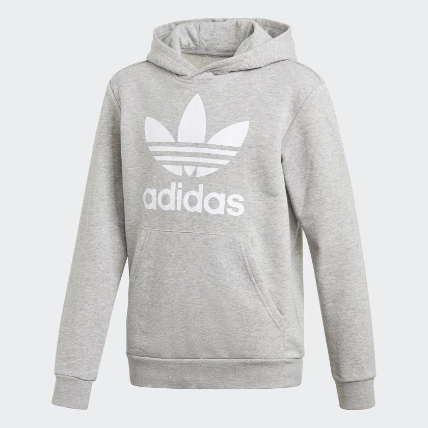 Adidas Trefoil Hoodie.