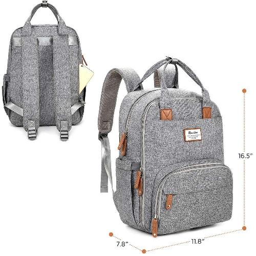 Nappy Changing Backpack, Ruvalino.