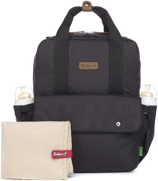 Georgi Eco Friendly Convertible Backpack (Black), Babymel.