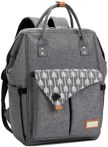 Nappy Changing Bag Backpack With Changing Mat, Lekebaby.