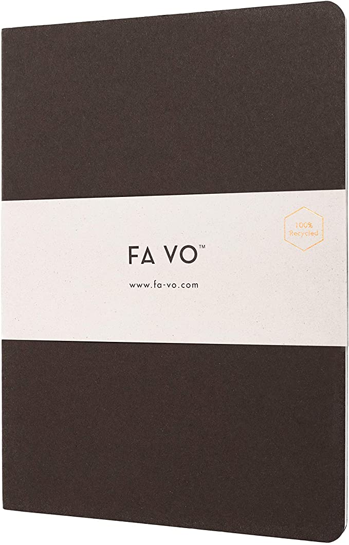 Recycled Notebook Coffee - FA VO.