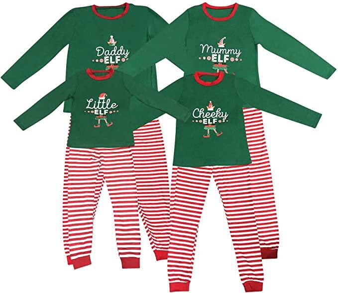 Elf Family Christmas Pyjamas - Live It Style It.