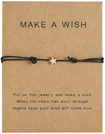 Make A Wish Charm Bracelet - Jiacuo.