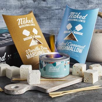 Marshmallow Toasting Kit - The Naked Marshmallow Co.