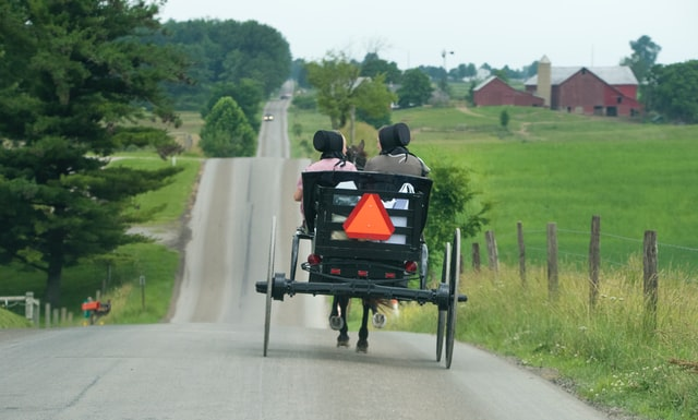 The Amish are known to be firm believers in God and The Bible.